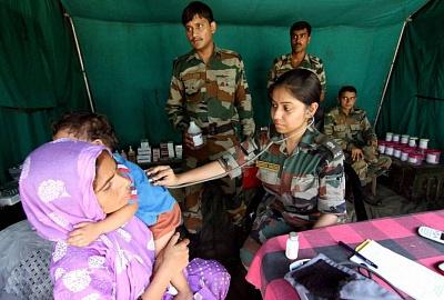 Врачи AYUSH в индийской армии; индийская армия ведет призыв врачей-гомеопатов.