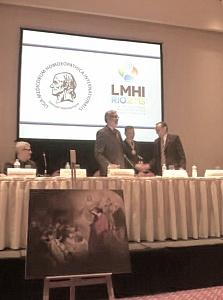 Российская делегация на 70 конгрессе Международной медицинской гомеопатической лиги (LMHI).